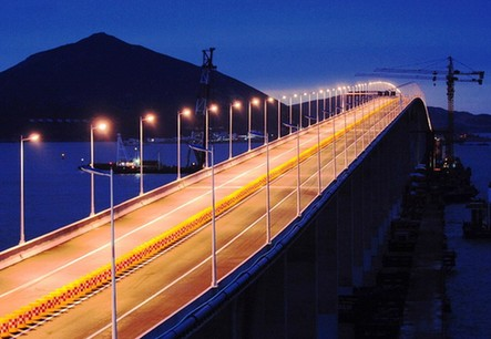 11月30日,我国第五大岛,福建第一大岛平潭岛跨海大桥——平潭海峡大桥