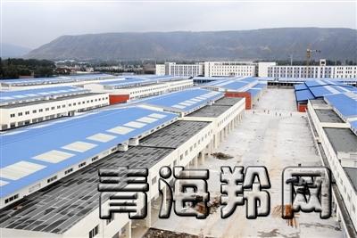 .据了解,位于西宁市三其村的青藏高原农副产品集散中心总建筑面积图片