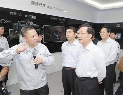 青羚网-青海省党政代表团赴安徽河南考察剪影