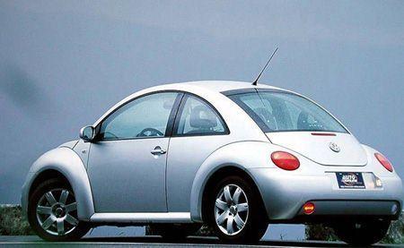 图:大众汽车甲壳虫车型-奔驰宝马大众集体降价拼小型豪车市场高清图片
