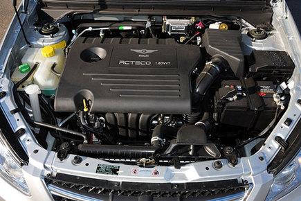 这款发动机内部代号e4g16,是由奇瑞完全自主开发的一款高效能,低排放