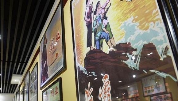 宁夏举办纪念建党95周年暨红军长征胜利80周年电影海报展