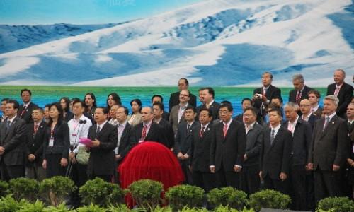 2015青洽会暨第二届环青海湖(国际)电动汽车挑战赛开幕