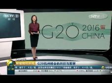 G20杭州峰会的共识与愿景