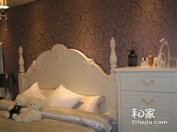 90平米欧式二居室装修效果图