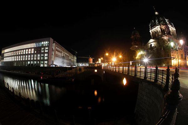 柏林城市宫夜景