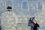 哈尔滨:冰雪世界迎新年