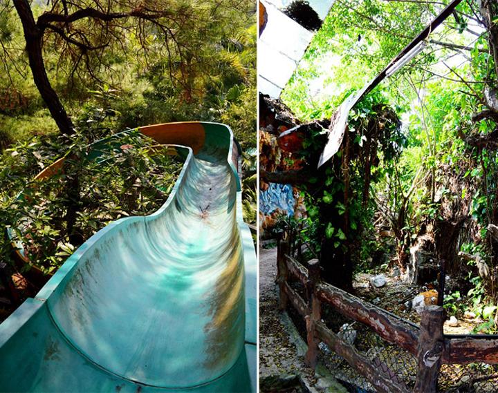 """美国佛罗里达州的冒险者考特尼 兰伯特(Courtney Lambert)近期拍摄了一组该公园的照片,上传到自己博客上。他写到:""""整个公园看起来就像是一个失事的宇宙飞船,一个天外来客坐在闪闪发光的人工湖中间,享受安逸的日子。"""""""
