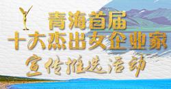 青海首届十大杰出女企业家宣传推选活动