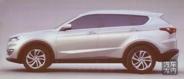 品牌乱局再现,开瑞X70全新七座SUV曝光高清图片