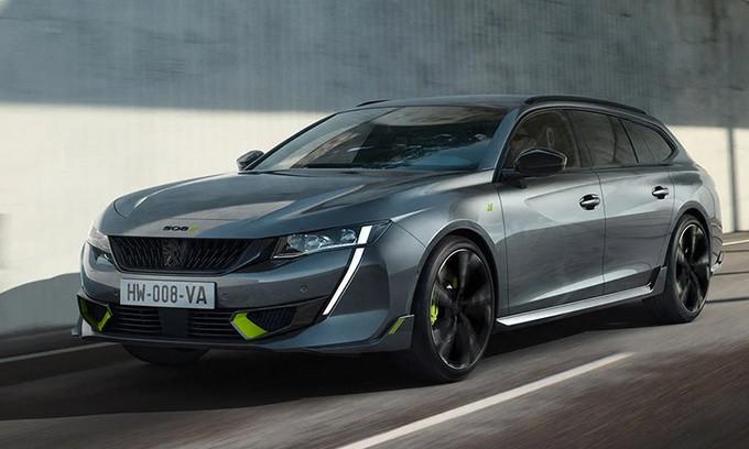 标致508新车型发售 搭1.6T+双电机 大尺寸轮毂 造型超运动