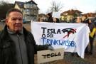 特斯拉德国工厂遭遇环保主义者抗议,被指盗取当地干净水源