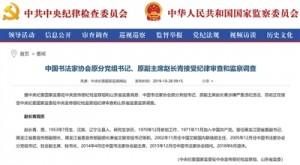起底中国书法家协会原副会长赵长青