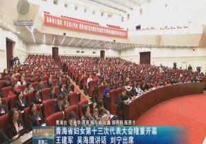 Manbetx苹果版下载省妇女第十三次代表大会隆重开幕 王建军 吴海鹰讲话 刘宁出席