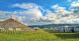 原子城: 鲜花开满草原