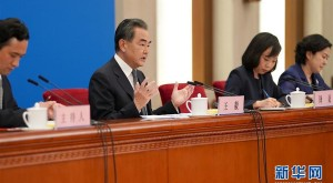王毅谈中央政府推进香港国家安全立法