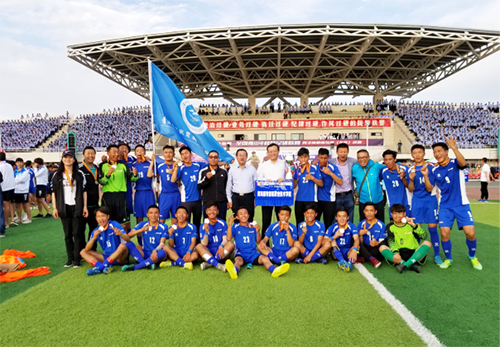 青牧职院队踢进全国总决赛
