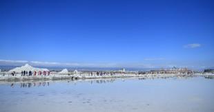 茶卡盐湖景区游客量突破200万人次
