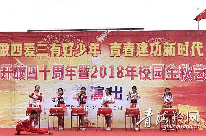 改革开放40年,校园金秋艺术节展风采!