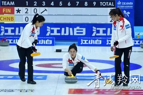 冰壶精英赛第三日 加拿大队提前出线