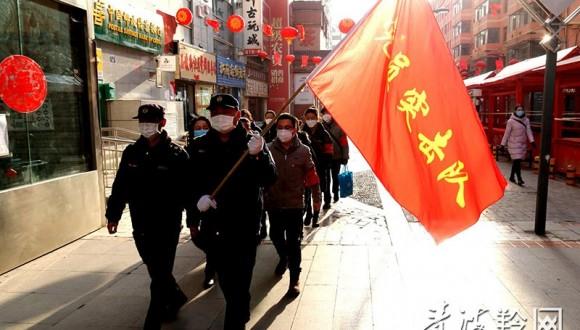 西宁市城中区党员突击队加强疫情防控巡查指导力度