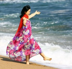 海南三亚:海边享春光