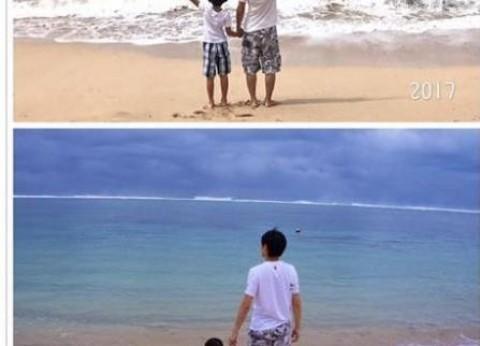 林志颖三子水中嬉戏 三兄弟和谐有爱幸福满满图片
