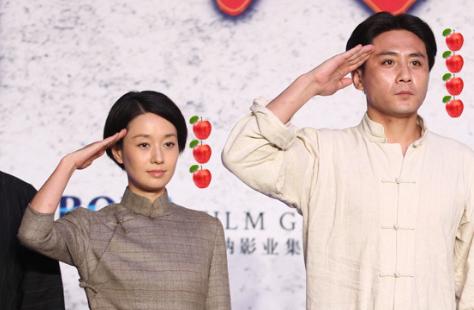 """马伊琍集邮娱乐圈""""三大巨头"""":刘烨靳东雷佳音"""