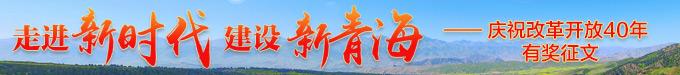 走进新时代 建设新青海——庆祝改革开放40年有奖征文