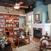 20款客厅书架 打造惬意书架读书空间