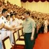 习近平:努力建设一支强大的现代化海军
