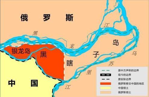 黑瞎子岛地理位置图(资料图片)