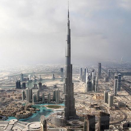 青羚网-世界第一高楼迪拜塔4日举办竣工典礼(图)