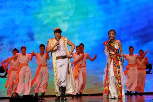 大型歌舞剧《藏舞京典》在青海大剧院首演
